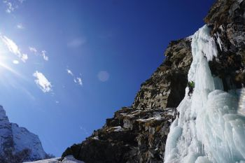 Technical Alpine Icefalls 1