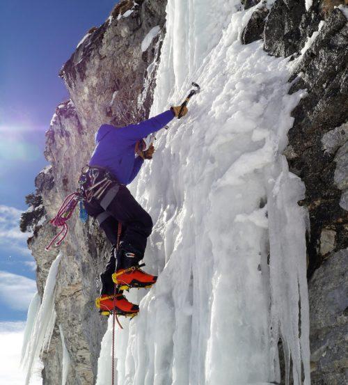 Terry Ski Boots Ice 2