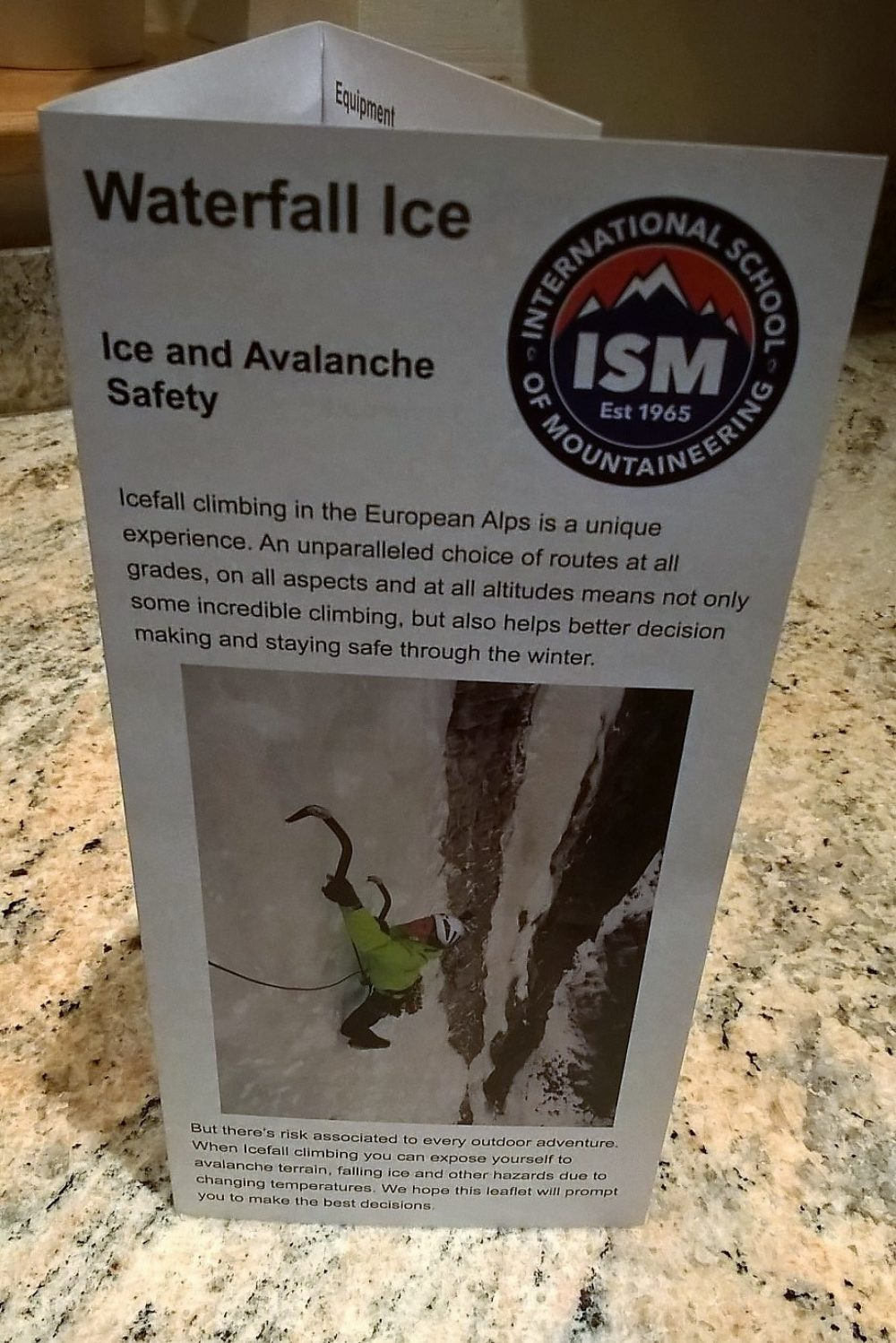 Ice Leaflet Photo